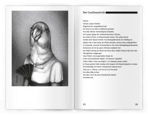 Doppelseite aus dem Buch »Dodos auf der Flucht«
