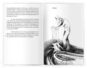 Gedanken aus Schwerkraftland / Illustration: © Guglielmo Manenti