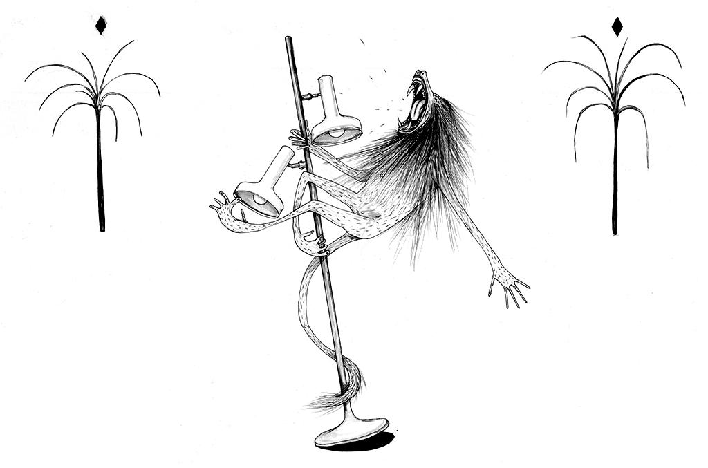 Zeichnung: Nele Brönner