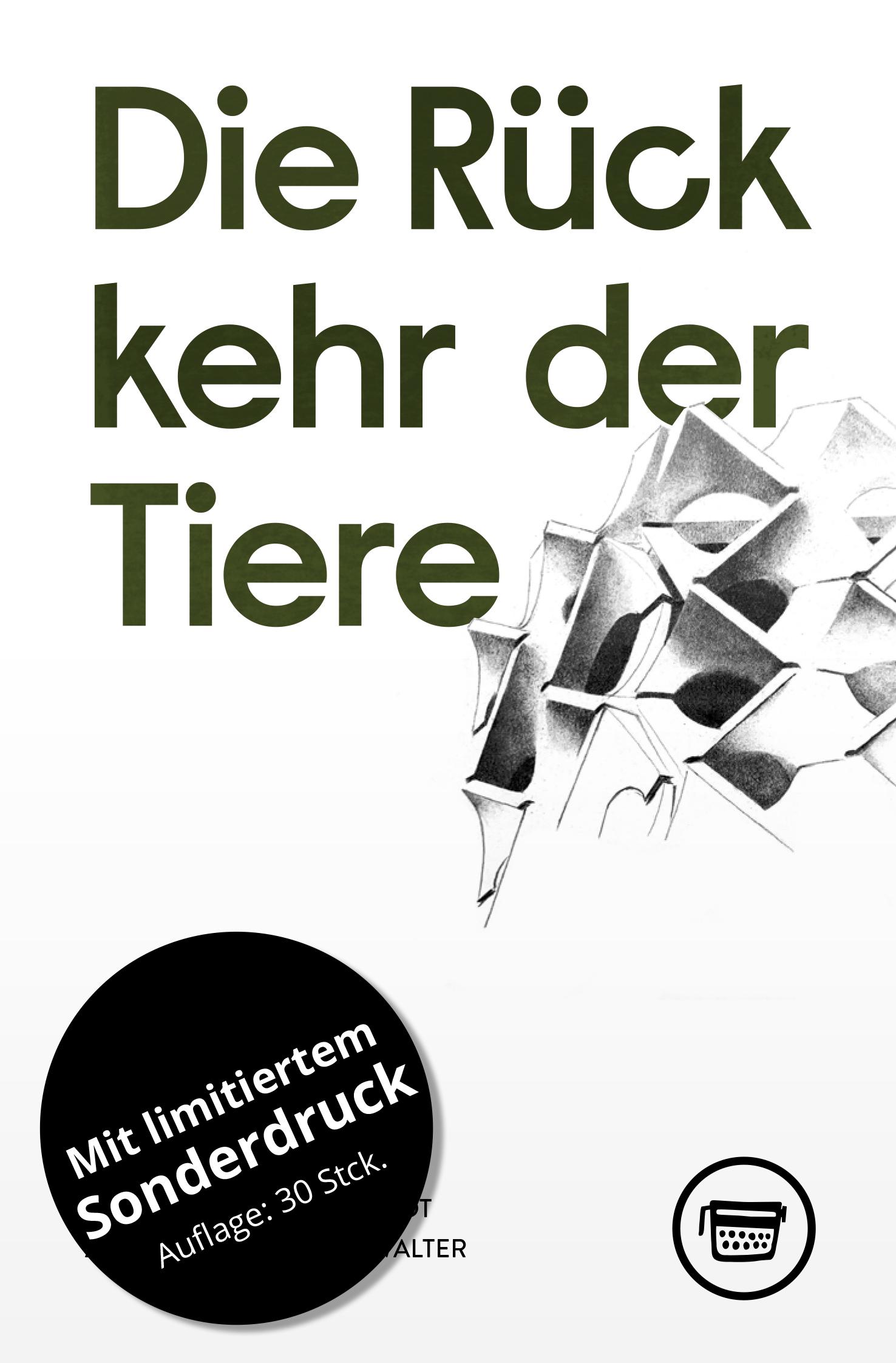 Cover: Jan Kuhlbrodt: Die Rückkehr der Tiere; Vorzugsausgabe